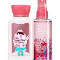 Travel Size Body Care Bundle Twisted Peppermint