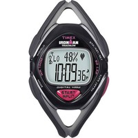 Timex Ironman Race Trainer Heart Rate Monitor Watch, Black/Grey