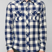 Salt Valley Buffalo Plaid Flannel Button-Down Shirt  - Urban Outfitters