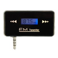 3.5mm Jack Stereo Radio Car FM Transmitter For Smart Phone MP3 Tablet
