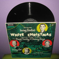 HOLIDAY SALE Vinyl Record Album Selections from White Christmas Soundtrack LP 1954 Holiday Classics