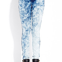 Bold Moves Acid Wash Jeggings