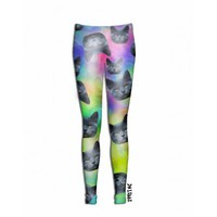 ☮♡ Trippy Cat Leggings ✞☆