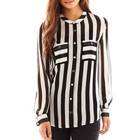 Bisou Bisou® Button-Front Shirt