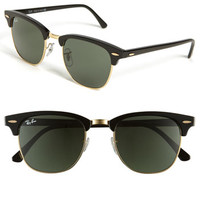 Ray-Ban 'Classic Clubmaster' 51mm Sunglasses (Save Now through 12/9) | Nordstrom