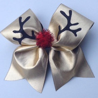 Rudolph the Red Nosed Reindeer Cheer Bow