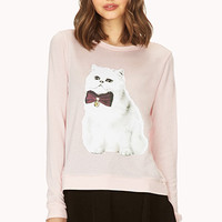 Posh Cat Knit Top