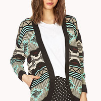 Fresh Open-Front Cardigan