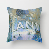 Goodbye Hamburg - Original revisited Throw Pillow by ARTito