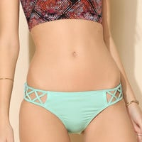 Out From Under Mix + Match Crisscross Hipster Bikini Bottom - Urban Outfitters