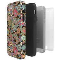 ArtsCase StrongFit Series My Butterflies and Flowers by Julia Grifol for Apple iPhone 5 / 5S