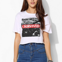 Converse I Survived Cropped Tee - Urban Outfitters