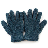Soild Far Winter Glove