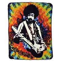 Jimi Hendrix - Guitar Fleece Blanket on Sale for $29.99 at HippieShop.com