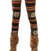Snowflake Leggings - Che Bello