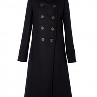 Drap De Laine Compact Long Trench Coat by Vanessa Bruno