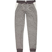 GREY BELLFIELD COLOR BLOCK JOGGERS