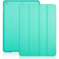 INVELLOP Turquoise/Teal Leatherette Case Cover for Apple iPad Air 5g 5th Generation