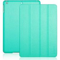 INVELLOP Leatherette Case Cover for Apple iPad Air (also known as iPad 5) (iPad Air, Turquoise/Teal)