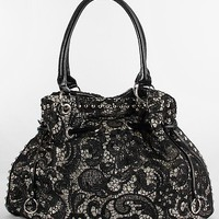 Lace Overlay Purse
