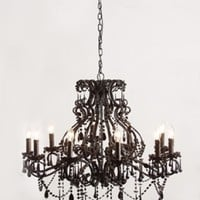Black Magic 10 Arm Chandelier | Lighting from Sweetpea & Willow