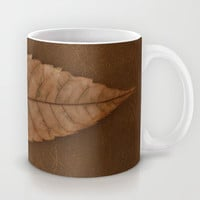 Dead Brown Mug by RichCaspian