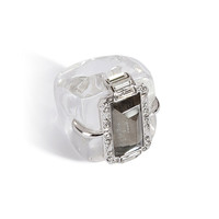 Alexis Bittar - Santa Fe Deco Large Ice Cube Cocktail Ring