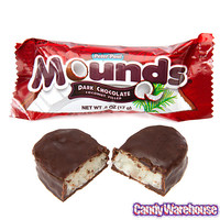 Mounds Snack Size Candy Bars: 18-Piece Bag | CandyWarehouse.com Online Candy Store