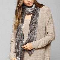 Hidden Animals Scarf - Urban Outfitters