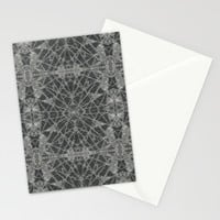 Frozen Black Stationery Cards by Project M