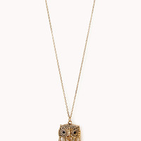 Heirloom Owl Pendant Necklace