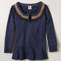 Toorie Embroidered Top