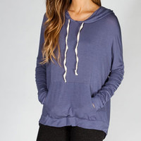 FULL TILT Womens Hi Low Hoodie