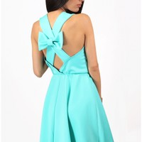 The Mint Bow Back Dress - 29 N Under