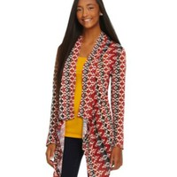 Living Doll Tribal-Print Cardigan | Dillards.com