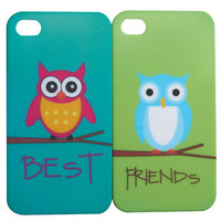 Owl BFF iPhone 4/4S Cases