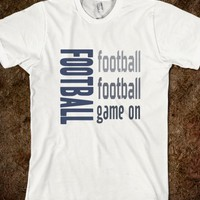 Skreened Football Game On Sports Tee