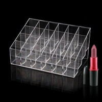 Lipstick Organizer Nail Polish Makeup Case Cosmetic Stand Display Rack Holder: Amazon.ca: Beauty
