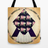 Timeless Infinity Tote Bag by DuckyB (Brandi)