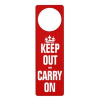 Keep Out and Carry On