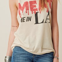 Meat Me In LA Muscle Tee
