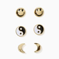 Positive Vibes Earring Set
