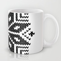 knit flake Mug by Miranda J. Friedman