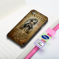 Jinx Wanted Poster Phone Case for iPhone and Samsung Galaxy