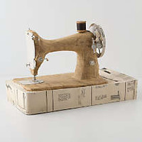 Paper Singer Sewing Machine