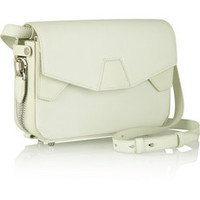 Alexander Wang Tri-Fold glow-in-the-dark leather shoulder bag – 50% at THE OUTNET.COM