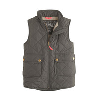 GIRLS' EXCURSION QUILTED VEST