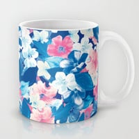 Bloom Blue Mug by Aimee St Hill