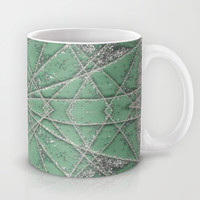 Snowflake Mint Mug by Project M