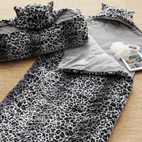 Fur Sleeping Bag, Jaguar